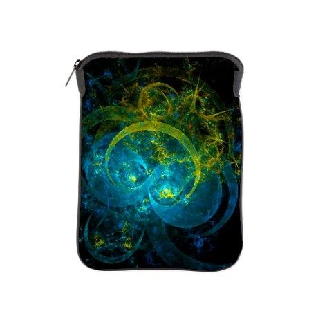Divided mind abstract art iPad Sleeve on CafePress.com / by Michal Dunaj / visit www.fractal-store.com for more art & art-enchanted stuff / #ipad #ipadsleeve #accessories #abstractart #fractalart #cafepress