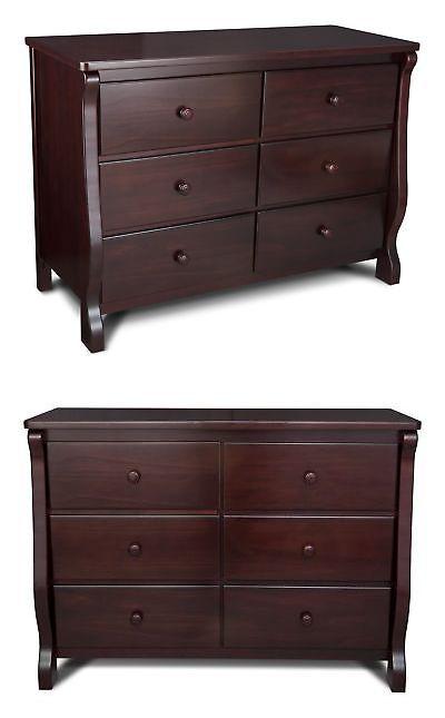 Baby Dressers 134279 Delta Children Universal 6 Drawer Dresser Espresso Cherry It Now Only 285 3 On Ebay