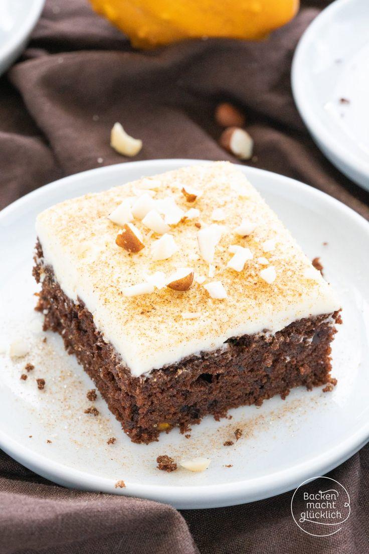 Kürbis-Schoko-Kuchen – backen