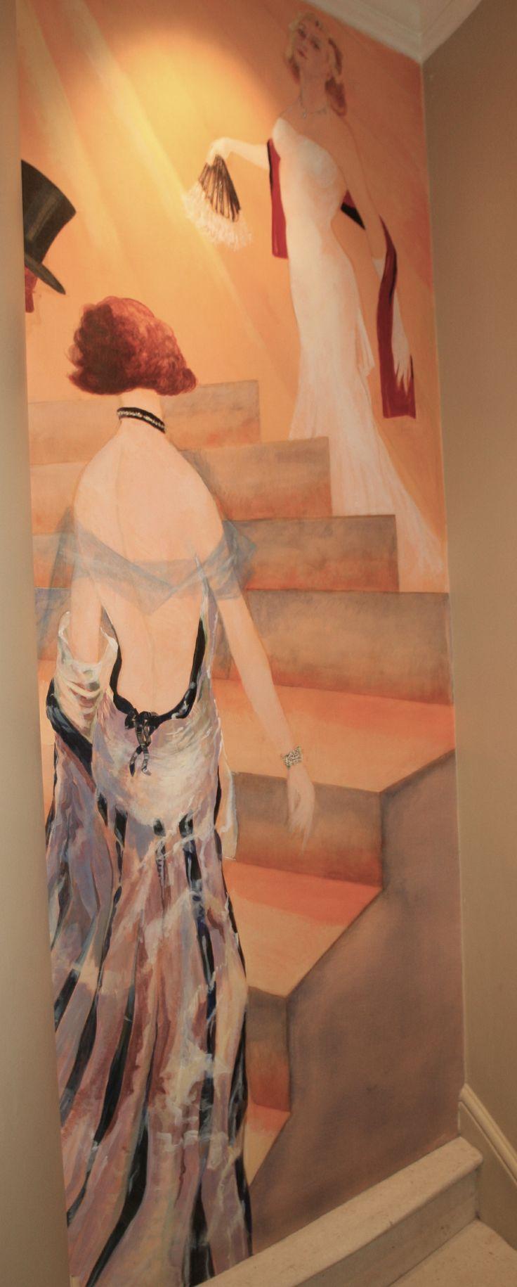 Art Deco Staircase, RAC Club London.