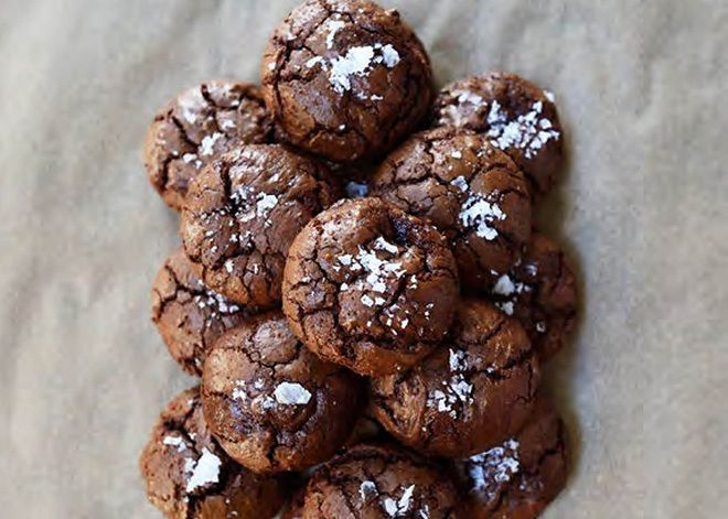 Salted Chocolate-Rye Cookies from Tartine Book No. 3 by Chad Robertson.