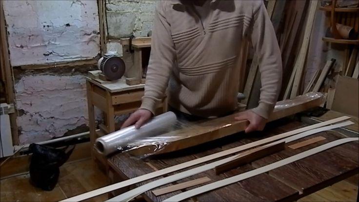 Изготовление азиатского лука #4 Подготовка к склеиванию