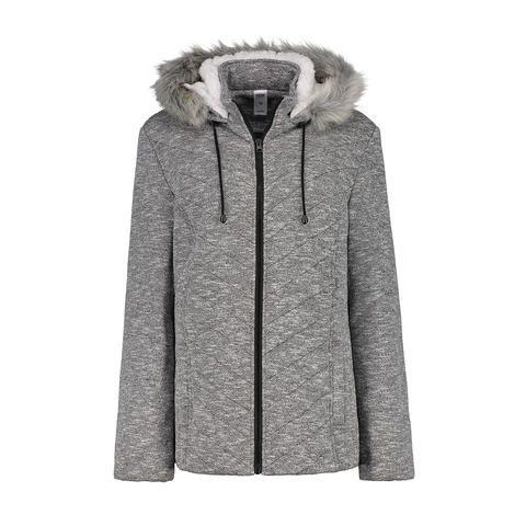 Fleece Hooded Jacket