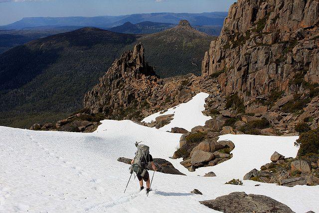 Overland Track, Mount Ossa - Highest mountain in Tasmania, Australia