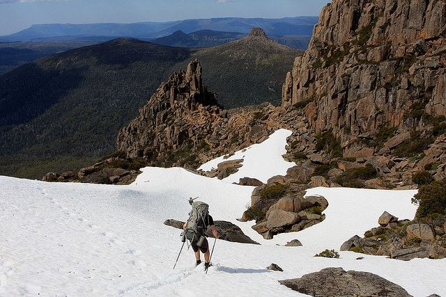 Overland Track, Mount Ossa - Highest mountain in Tasmania, Australia