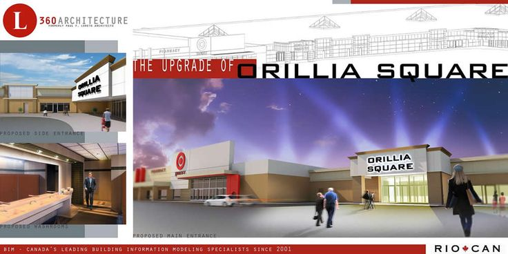 Orillia Square Mall - Shopping, Target, The Brick, Canadian Tire, No Frills