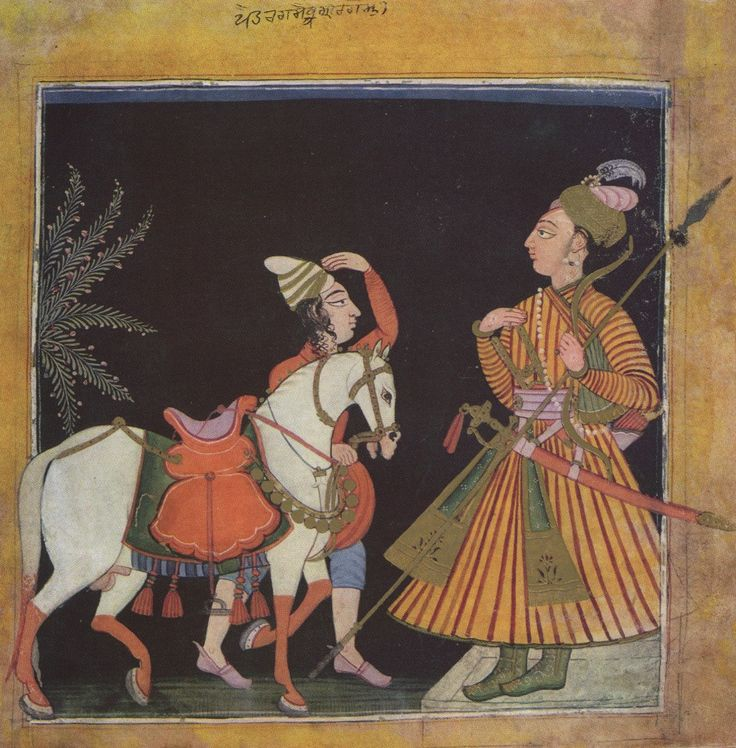Image result for raagmala paintings