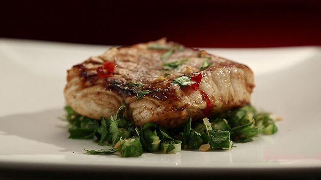 MKR4 Recipe - Tamarind Fish with Asian Salad