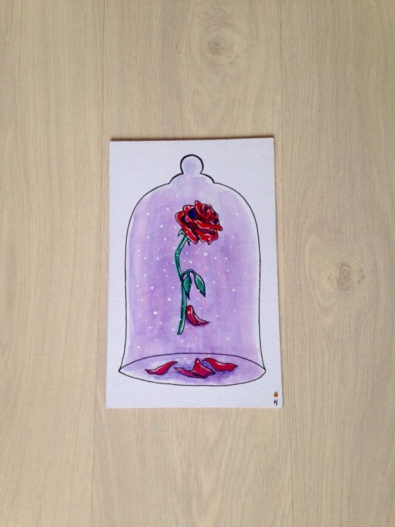 Disney Beauty and the Beast Enchanted Rose by ParadiseFallls