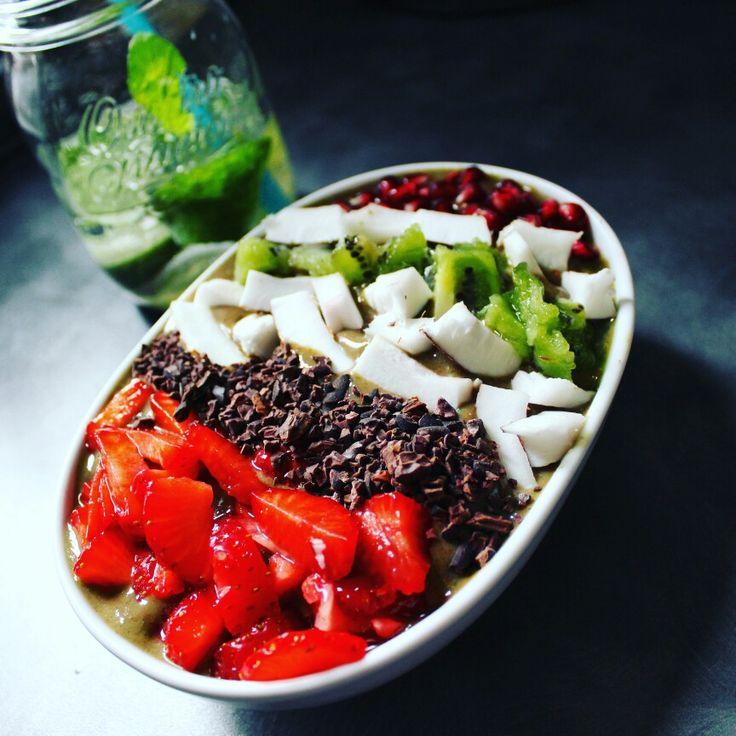 Smoothie bowl vegan#raw