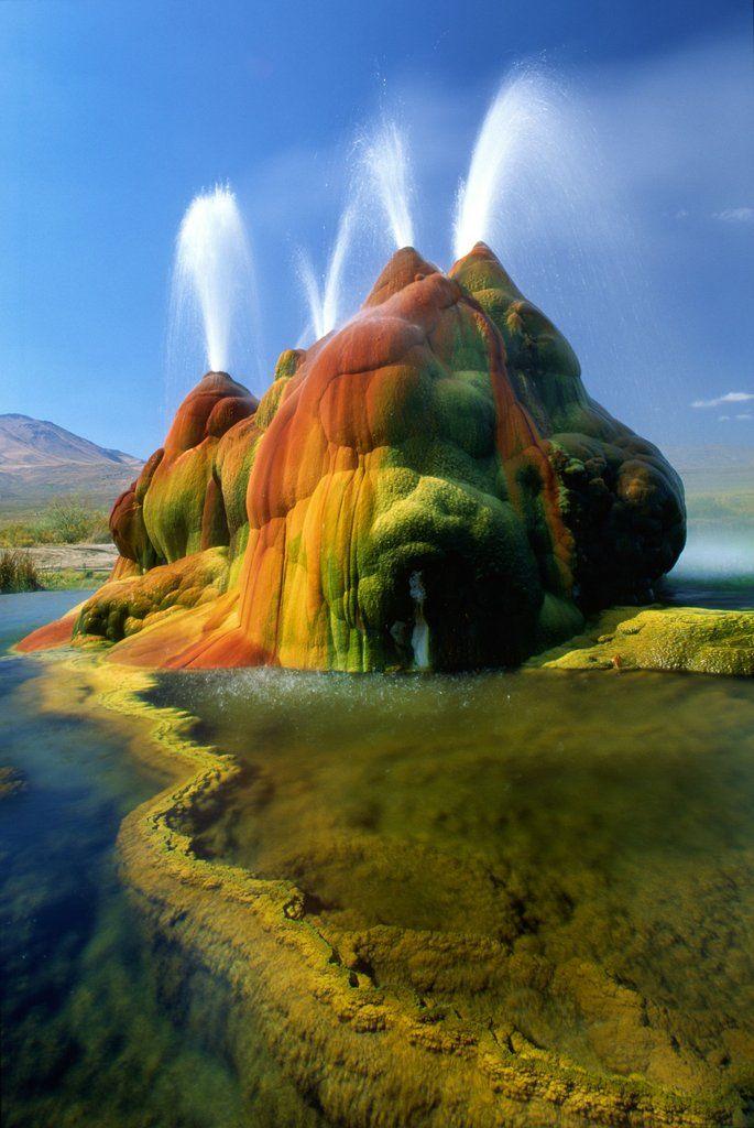 Hot spring in Nevada