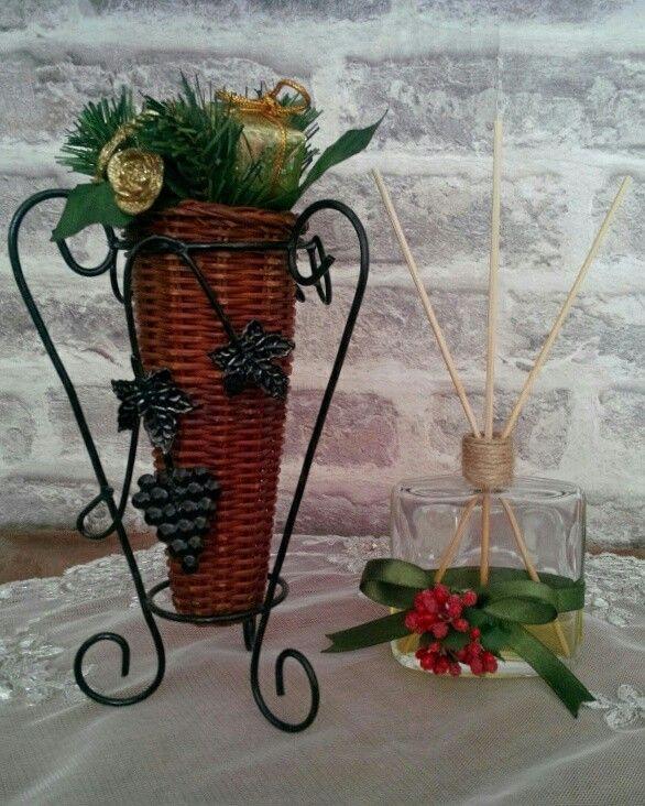 Parfüm Şişesinden Bambu Oda Kokusu