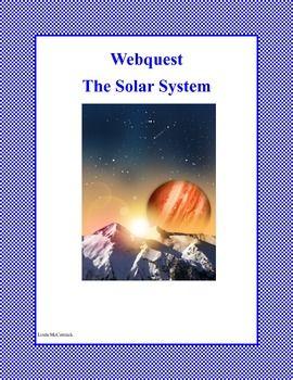 WebQuest : Our Solar System Grades 3-5