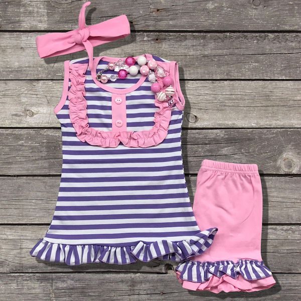 Purple and Striped Shirt, Pink Shirt Outfit
