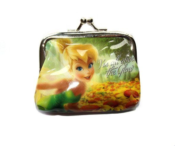 This cute purse is a great add-on gift for a little girl! Available in 4 different designs and at only $2, who wouldn't want one! Tinkerbell Coin Purse - Green