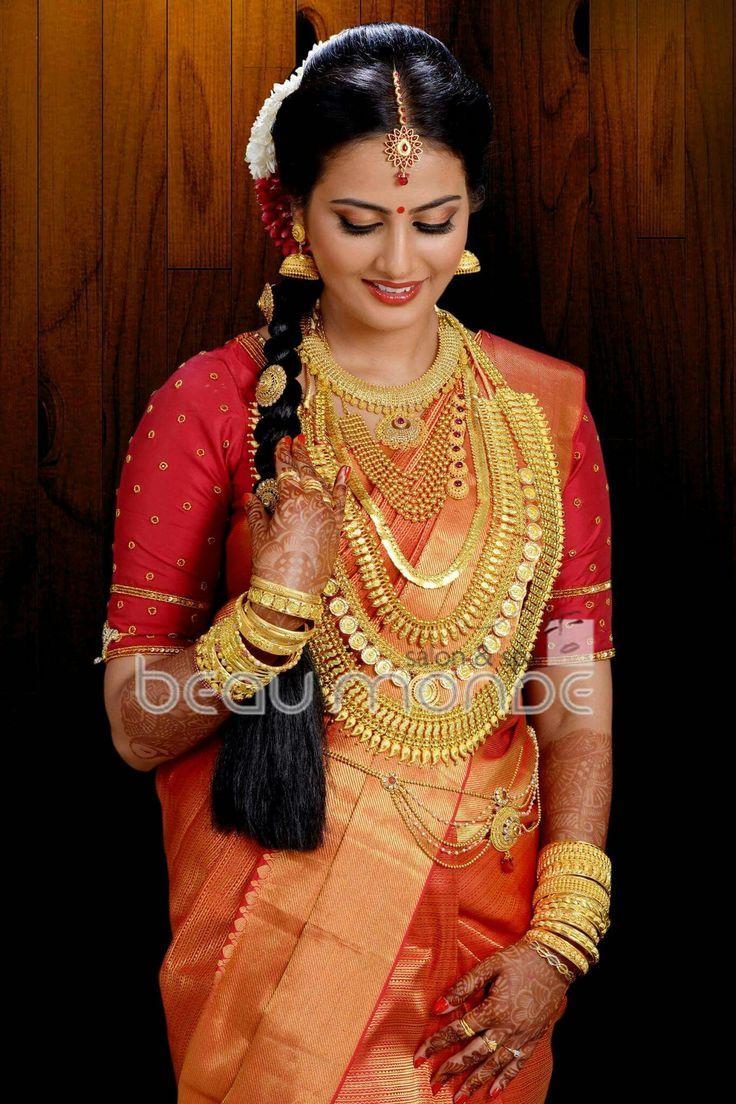 Pin by Alphonsa Thomas on Kerala bride | Indian bridal ...