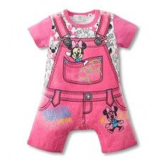 Minnie Mouse 'Suspender' Style Romper  Just $12.95 + $7.84 Postage  Sizes: 6-12, 12-18 & 18-24 Months  Link to Order: http://www.babyluscious.com.au/characters/minnie-mouse%20/minnie-suspender-pink-romper