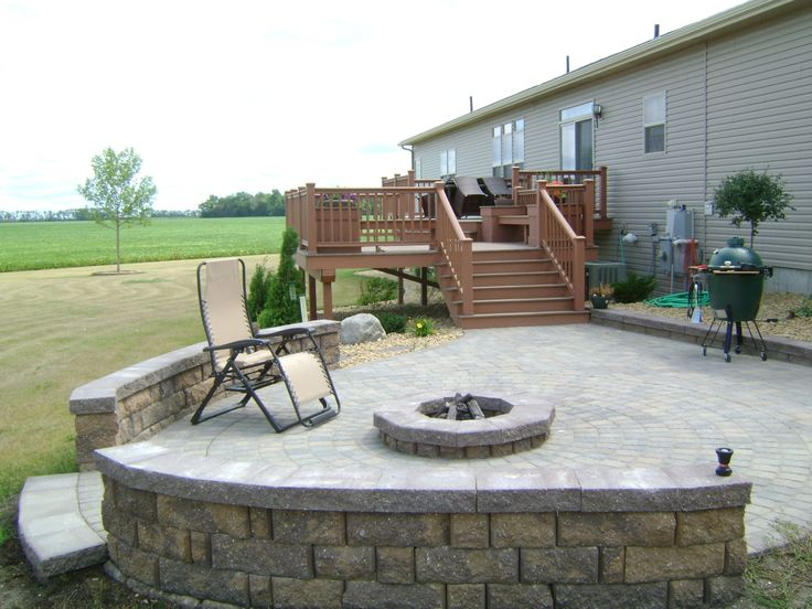 17 best ideas about raised deck on pinterest deck diy for Fireplace on raised deck