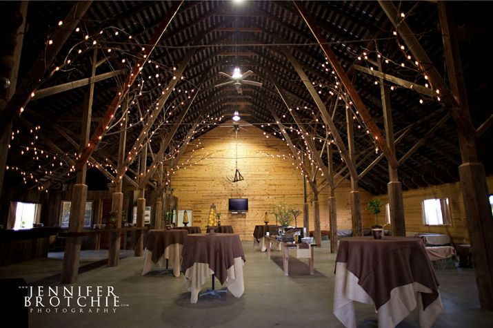 Is it weird I want to be married in a barn? Sure beats outside.. where its hot... and humid... and my hair gets frizzy in .02 seconds.