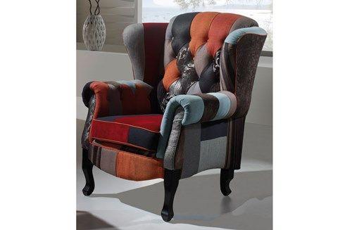 vente patchwork vintage 15916 assise vintage collection patchwork fauteuil andrea. Black Bedroom Furniture Sets. Home Design Ideas