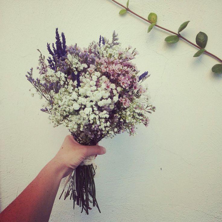 Mi maravilloso ramo de novia #wedding #ramo #flores #silvestres