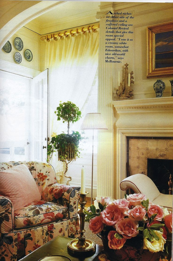 621 best images about english country decorating on - Images of country cottage living rooms ...