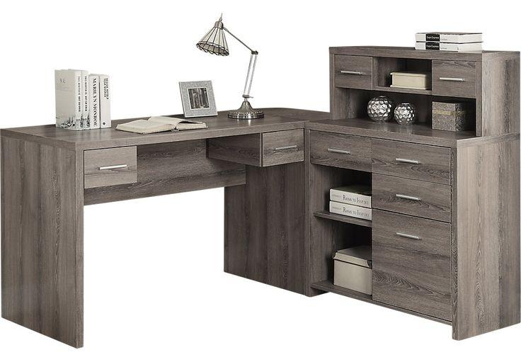 Thornhill Beige Desk-DesksColors