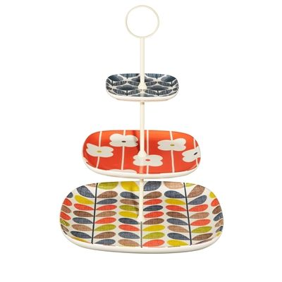 Orla Kiely Multistem cake stand now in stock at Contemporary Pieces. A great buy for the stylish entertainer!