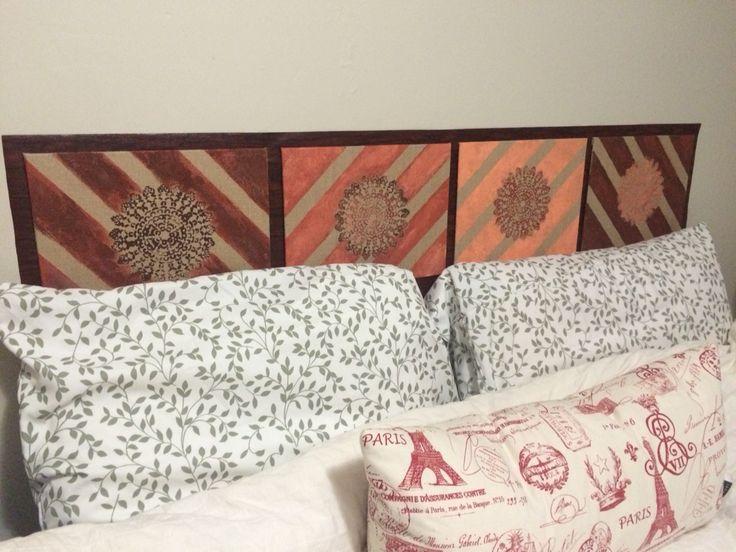 diy headboard for double bed - Diy Knigin Kopfteilplne