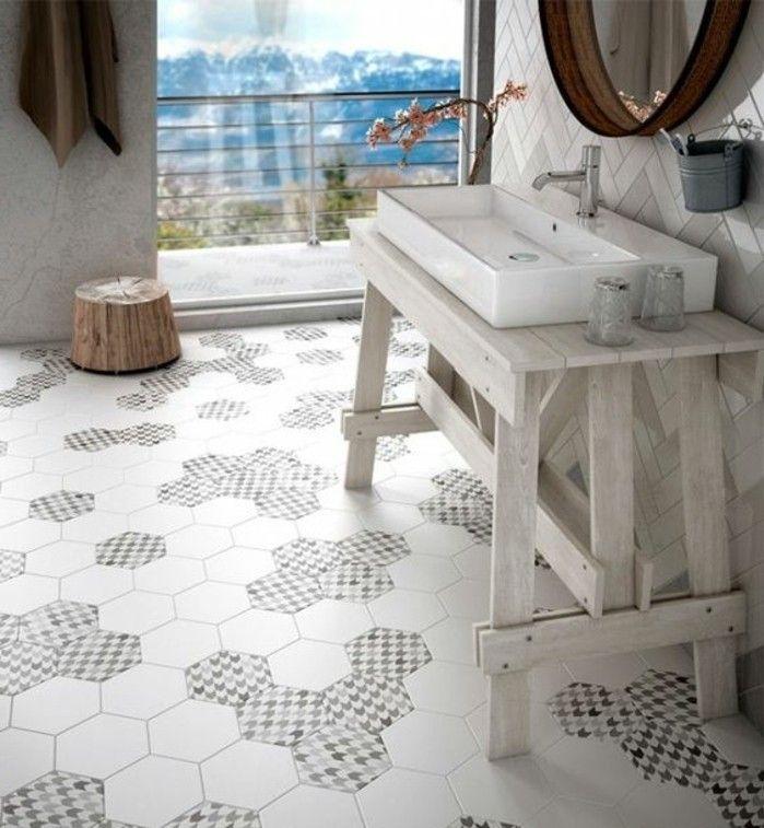 1000 id es sur le th me carrelage hexagonal sur pinterest for Carrelage hexagonal marbre