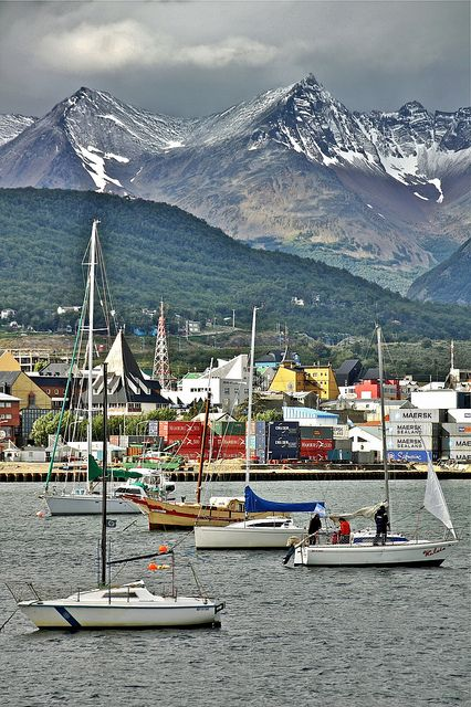 Ushuaia, where Mrs M sprained her ankle :(