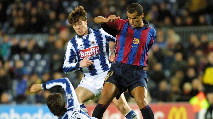 Rivaldo and Patrick Kluivert to play for Barcelona legends against Man United