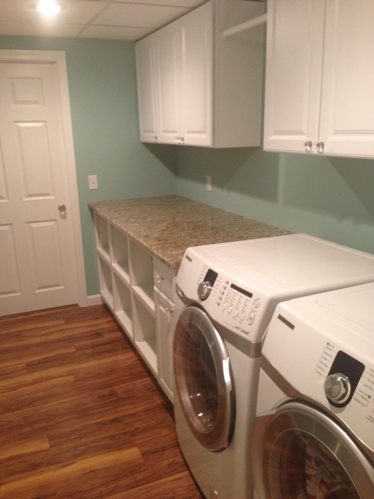 laundry room in basement on pinterest unfinished basement laundry