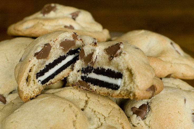 Oreo and chocolate chip cookies!