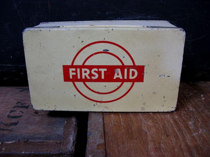 Vintage first aid kits