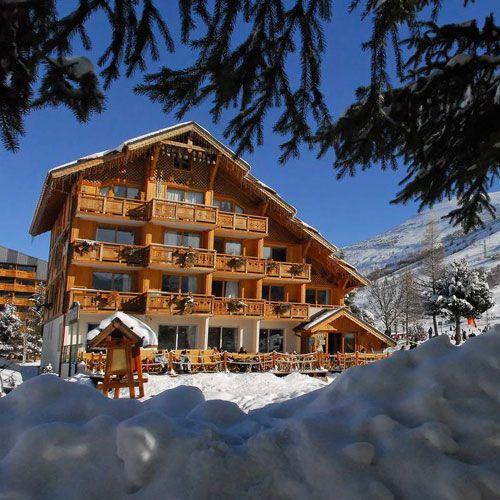 Paradis au ski : nos hôtels chics et pas chers