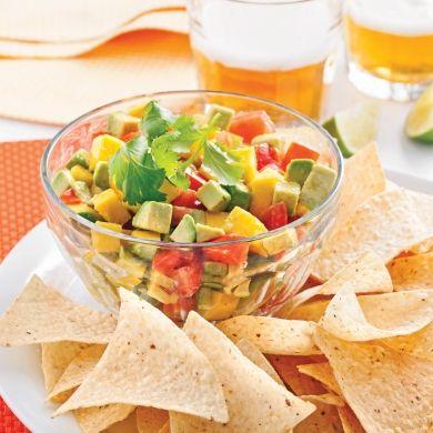 Salsa mangue et avocat - En étapes - Cuisine et nutrition - Pratico Pratique