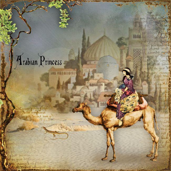 ***** Arabian Princess ***** I used the beautiful NEW album of LA_Arabian , with Lynne Anzelc <3. here the store, https://www.oscraps.com/shop/Lynne-Anzelc-Designs-c-779/ ©Ina Digital Art2017.