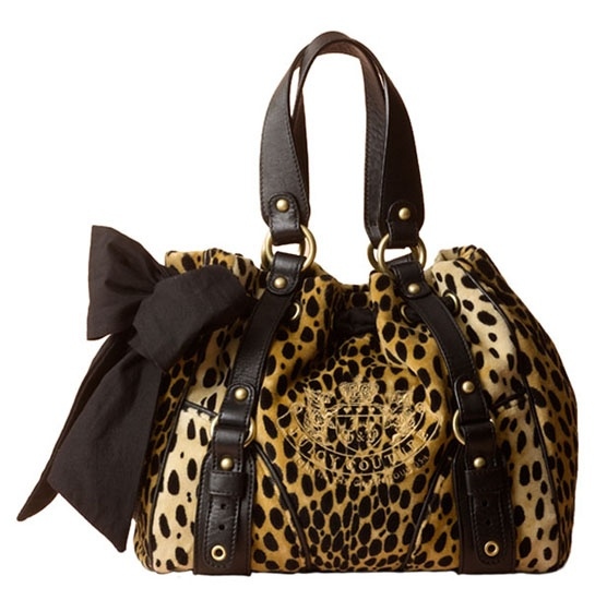 Juicy Couture Cheetah Daydreamer Bag (proud to say I own this heavenly bag!)