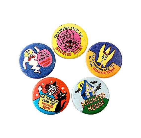 1970s Lyons Maid Ice-Cream Promotional Tin Badges
