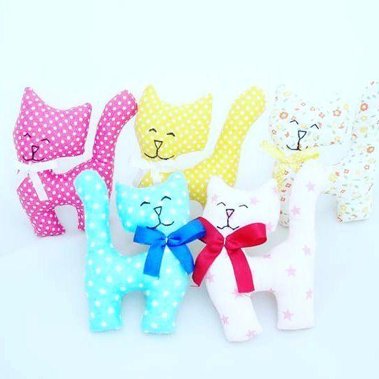 #Dorarte #sprzedam #maskotki #handmade #dla #dzieci #kids  Kotki w wersji…