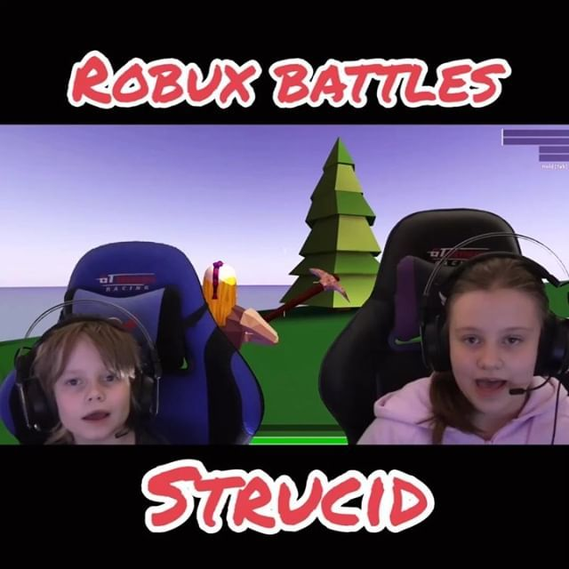 Roblox Strucid And Robux Battles For 1000 Robux Is On This Is The