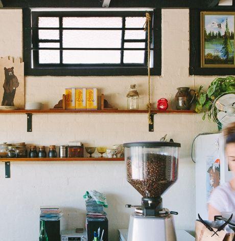 Scout Cafe. Petrie Terrace. 7 days 7-4pm.  Bagels & fresh juices
