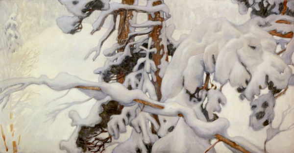 Winter by Akseli Gallen-Kallela