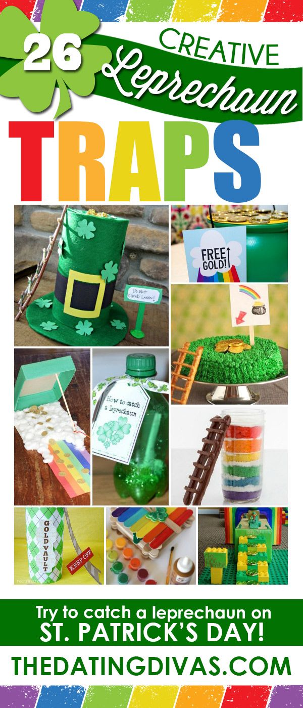 Creative Leprechaun traps. So many fun ideas! Pinning for later.