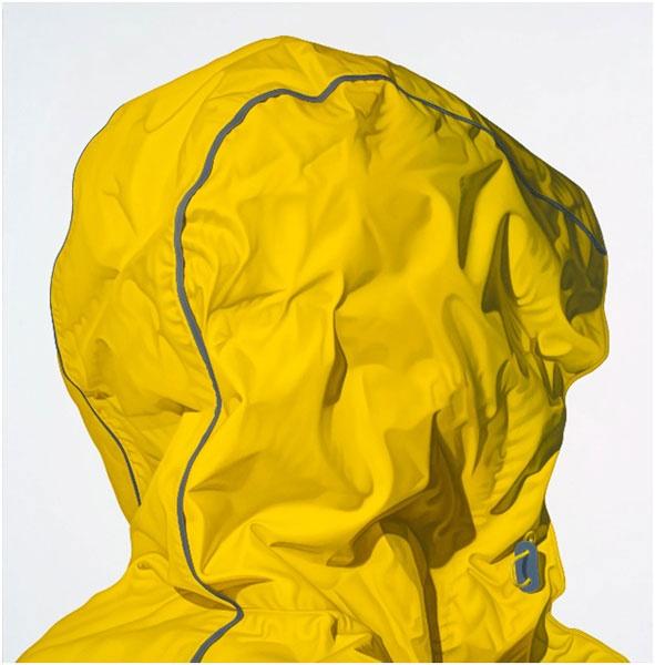 """Karel Funk, Untitled #56, 2012, 34.5"""" x 34"""", Acrylique sur panneau de bois / Acrylic on wood panel"""