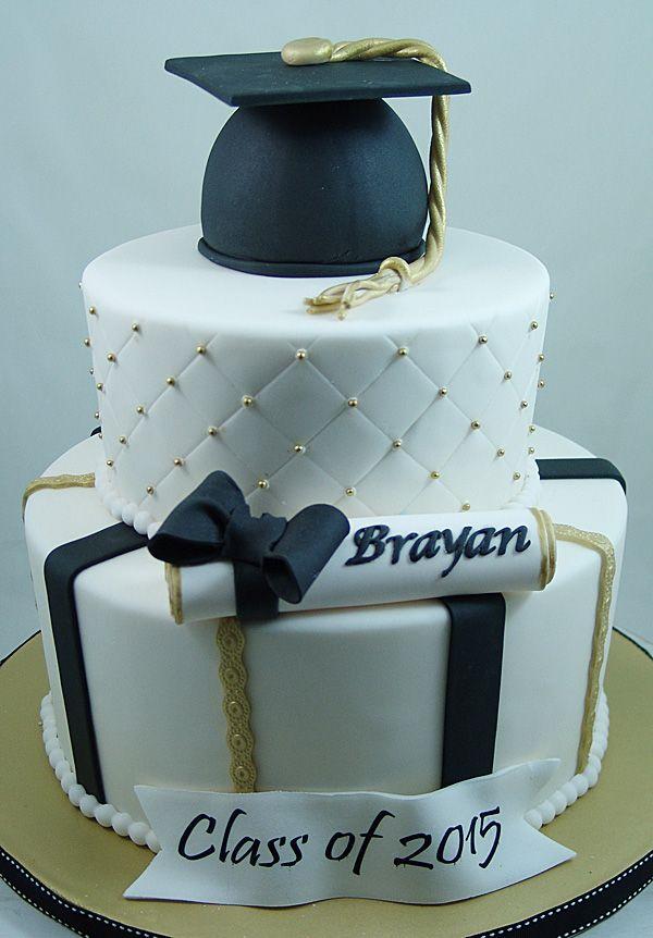 Graduation Cake #GraduationCakes, #SpecialEventCakes