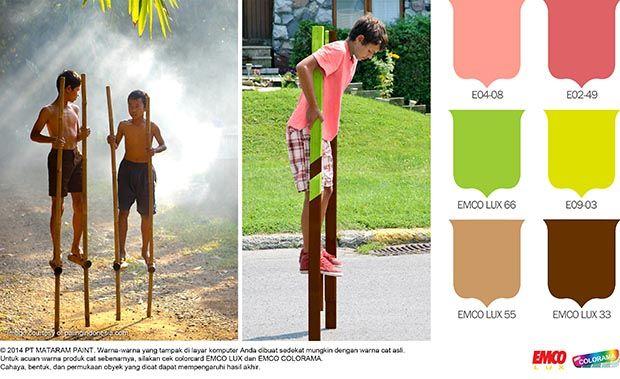 Balap Egrang, Berani? #Trend #Lifestyle #EMCOPaint http://matarampaint.com/detailNews.php?n=205