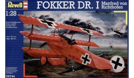 Revell - 4744 - Maquette d'avion / Aircraft Model kit - Fokker Dr I Triplan Richthofen - Echelle 1/28