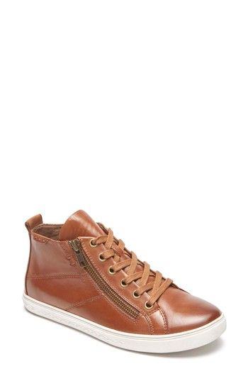 Free shipping and returns on Rockport Cobb Hill Willa High Top Sneaker (Women) at Nordstrom.com. An angled zip makes it easy to slip in and out of this good-looking high-top sneaker that's outfitted with a comfortably cushioned footbed and offers excellent arch support.